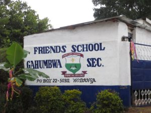 Friends School Gahumbwa Library Project